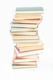 Montón del libro aislado Foto de archivo libre de regalías
