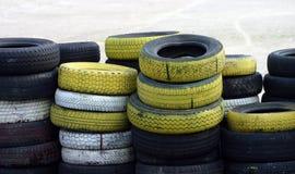 Montón del neumático Foto de archivo libre de regalías