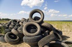 Montón del neumático. Imágenes de archivo libres de regalías