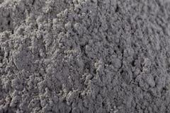 Montón del polvo del cemento previsto para la industria fotos de archivo