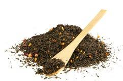Montón del té negro Imagen de archivo libre de regalías