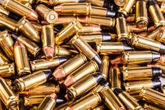 Montón grande de balas Imagen de archivo libre de regalías