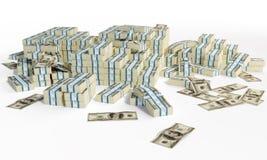 Montões de money1 Ilustração do Vetor