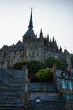 Mont圣徒米谢勒,法国 库存图片