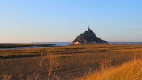 Mont圣徒米谢尔,法国 影视素材