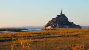 Mont圣徒米谢尔,法国 股票录像