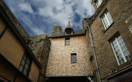 Mont圣徒米谢尔,诺曼底,法国 免版税图库摄影