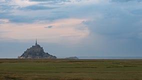 Mont圣徒米谢尔 免版税库存照片