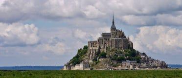 Mont圣徒Michel,法国 免版税库存图片