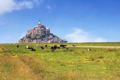 Mont圣徒Michel3 库存图片