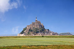 Mont圣米歇尔 库存图片