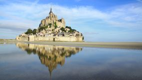 Mont Święty Michel. obraz royalty free
