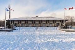 Mont-βασιλικό σαλέ στο Μόντρεαλ Στοκ Φωτογραφία