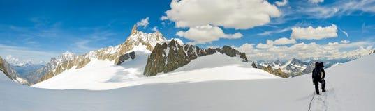 mont массива blanc стоковое изображение rf