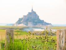 Mont Святой-Michel, Франция Стоковое Фото
