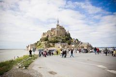 Mont-Святой-Michel Стоковое Изображение RF