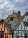 Mont Свят-Мишель, Нормандия, северная Франция Лето 2019 стоковые фотографии rf