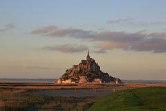 Mont Свят-Мишель в Франции Стоковое фото RF