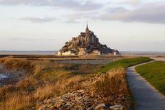 Mont Свят-Мишель в Франции Стоковые Фотографии RF