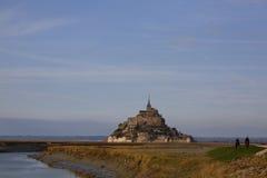 Mont Свят-Мишель в Франции Стоковая Фотография RF