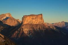 Mont Aiguille Stock Image
