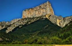 Mont Aiguille, Frankrijk royalty-vrije stock foto