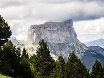 Mont Aiguille, Vercors, France Royalty Free Stock Images
