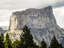 Mont Aiguille, Vercors, France Royalty Free Stock Image