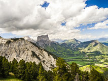 Mont Aiguille, Vercors, France Royalty Free Stock Photography