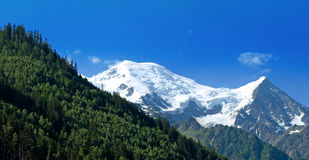 Mont Blanc, Γαλλία Στοκ Φωτογραφίες