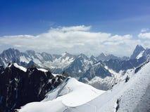 Mont Blanc Ελβετία Στοκ φωτογραφίες με δικαίωμα ελεύθερης χρήσης