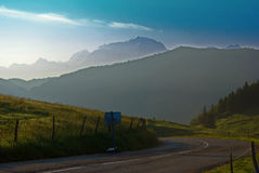 Mont Blanc, Франция Стоковые Фото