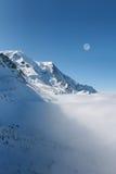 Mont Blanc, Шамони Стоковая Фотография RF