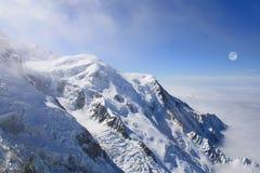Mont Blanc, Шамони Стоковая Фотография