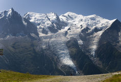 Mont Blanc  Stock Images