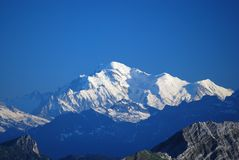 Mont Blanc Royalty Free Stock Image