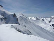 mont blanc стоковая фотография
