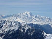 mont blanc стоковая фотография rf