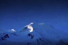 Mont Blanc, fotografia stock libera da diritti