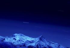 Mont Blanc. immagini stock libere da diritti