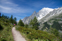 Mont Blanc Foto de Stock