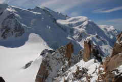 Mont Blanc Fotos de archivo