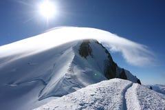 Mont Blanc Stockfoto