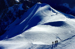 Mont blanc Lizenzfreies Stockfoto