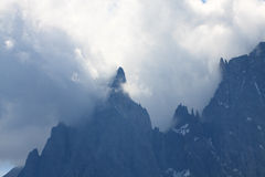 Mont Blanc Royalty Free Stock Photography