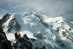 Mont Blanc fotografia stock
