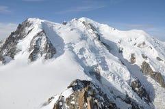 Mont Blanc Fotos de archivo libres de regalías