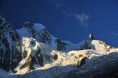 Mont Blanc obraz stock