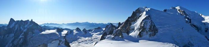 Mont Blanc Fotografia de Stock