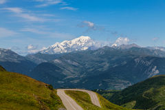 Mont Blanc foto de archivo